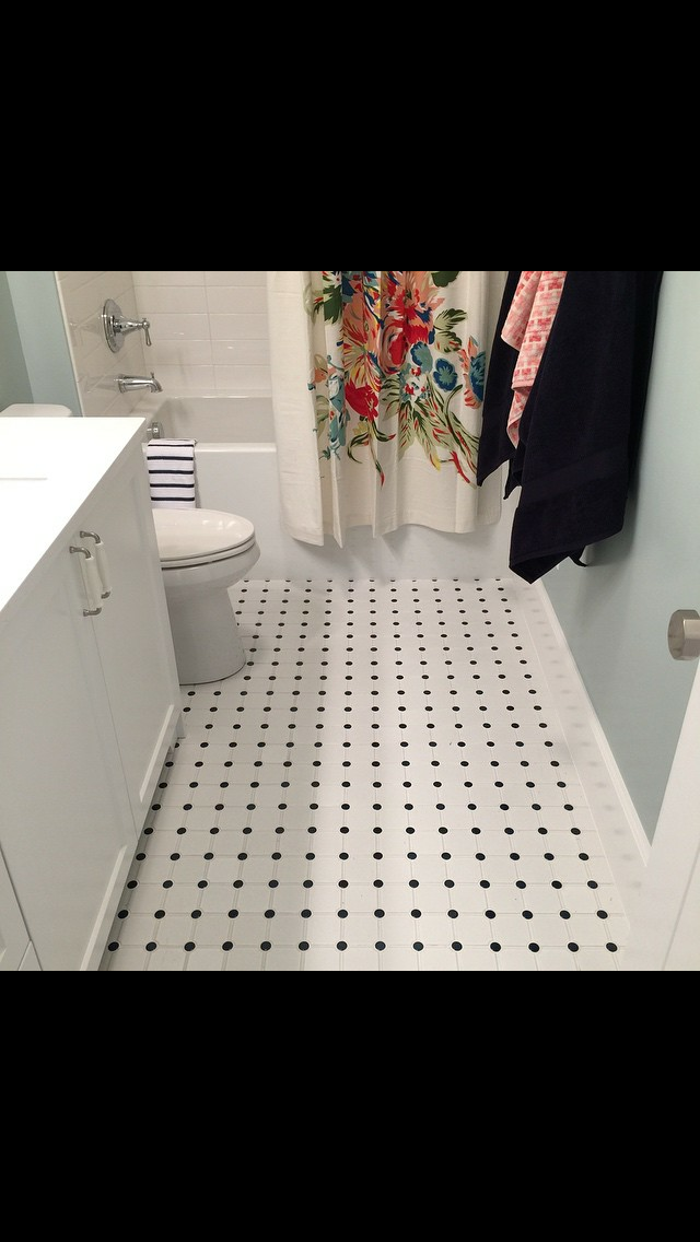 Bathroom Tile and Install